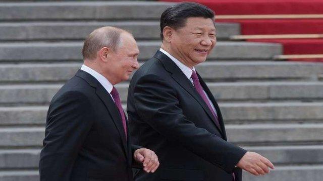 پوتین سپتامبر آتی با شی جینپینگ دیدار می نماید