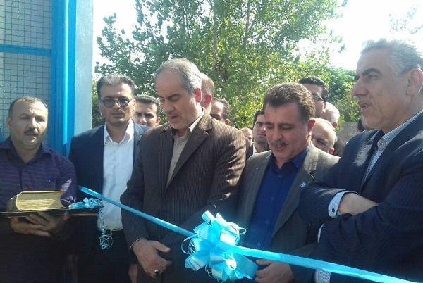 پروژه مجتمع آبرسانی حسین آباد رودسر بهره برداری شد