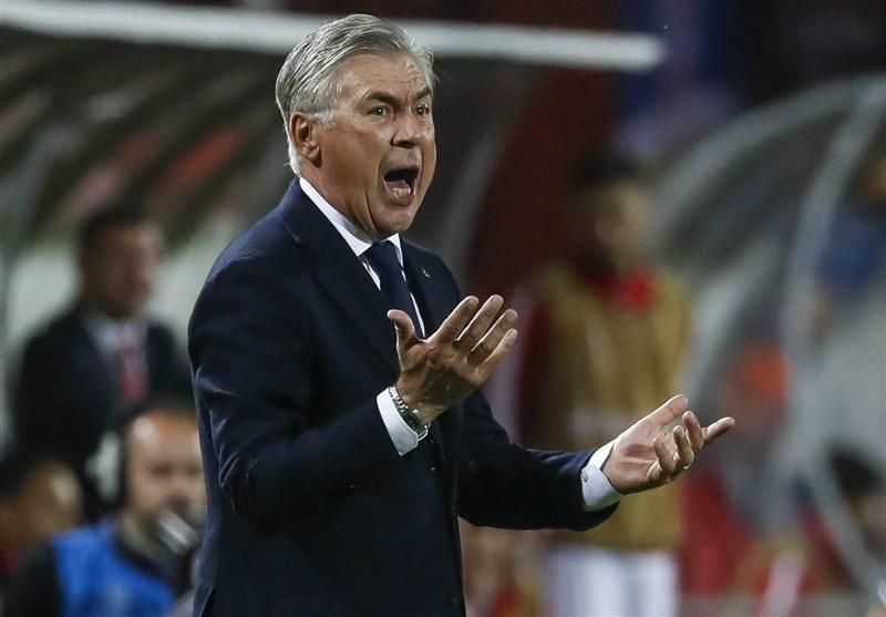 فوتبال دنیا، کارلو آنچلوتی: بازیکنان ستاره سرخ در وقت تلف کردن حرفه ای بودند