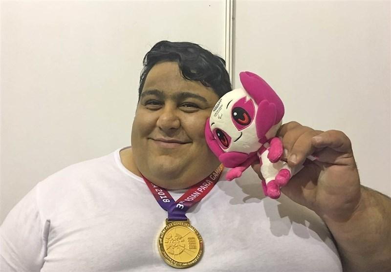 سیامند رحمان: از اینکه باعث افتخار ایران هستم، خوشحالم، می خواهم در پارالمپیک 2020 یک رکورد جدید ثبت کنم