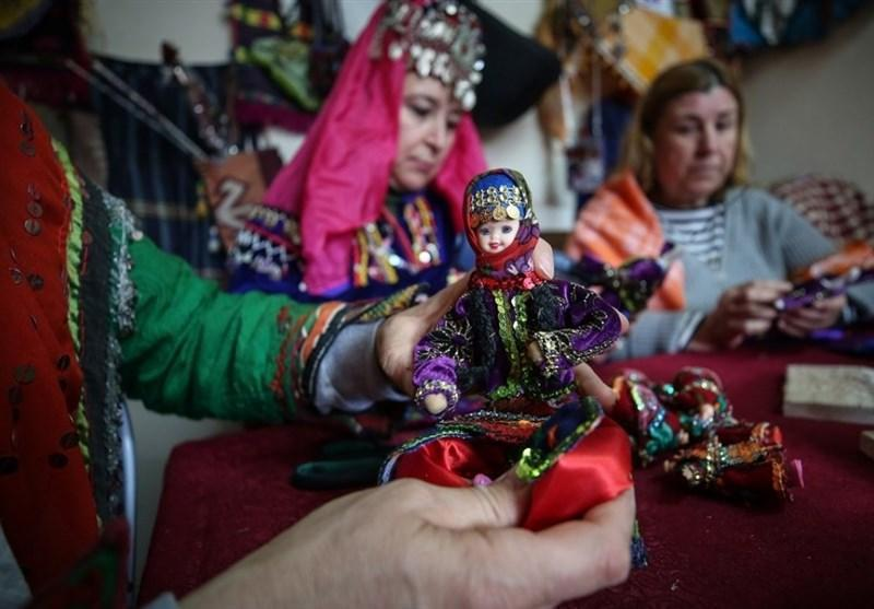 تولید عروسک های سنتی در ترکیه