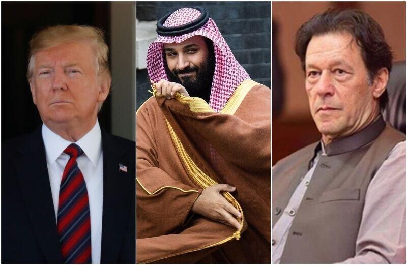لابی های بن سلمان برای دیدار ترامپ با عمران خان
