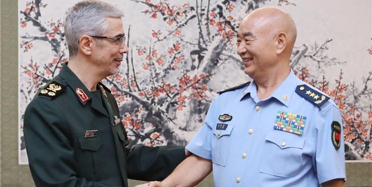 عالی ترین مقام نظامی چین: پکن روابط با تهران را راهبردی می داند