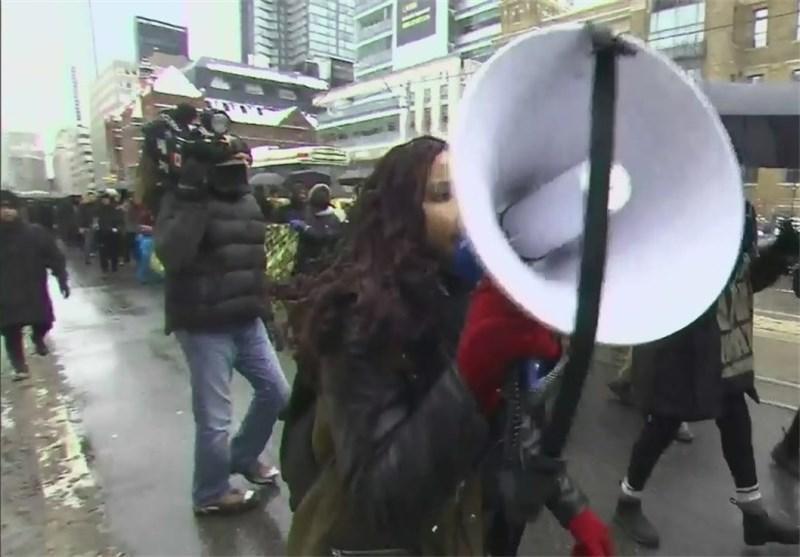 تظاهرات ضدنژادپرستی در کانادا به خشونت کشیده شد