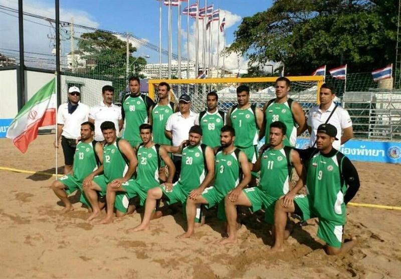 پیروزی ایران مقابل ویتنام در مسابقات قهرمانی هندبال ساحلی دنیا