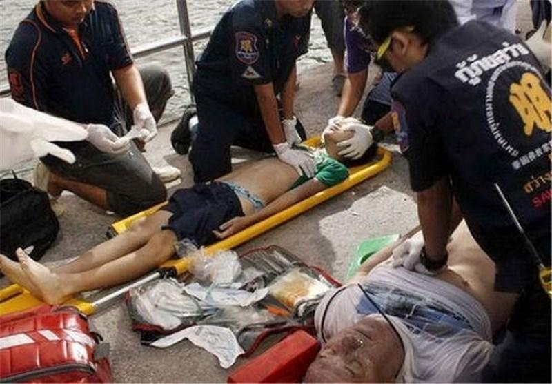 غرق شدن هفت توریست در پی غرق شدن قایقی درتایلند