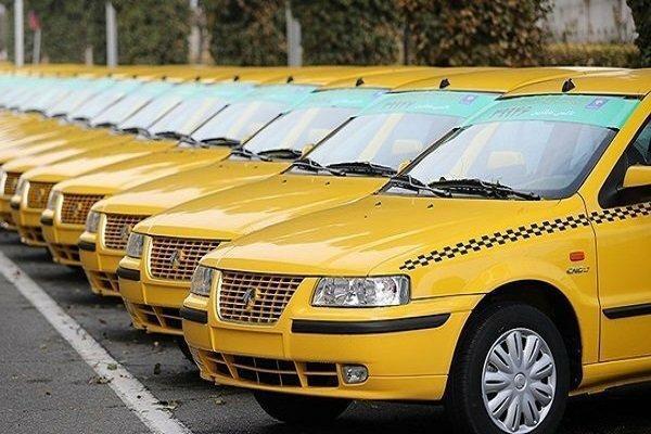 ارسال پیامک نوسازی به تاکسی های 87 به قبل