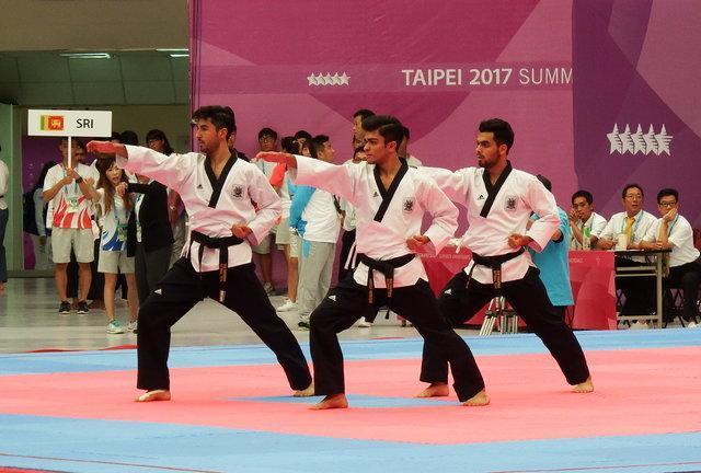 پنجمین مدال برنز یونیورسیاد برای ایران، تیم پومسه پسران روی سکو رفت