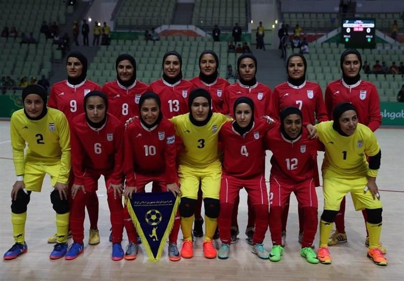 ملاقات محبت آمیز تیم ملی فوتسال بانوان ایران و ایتالیا