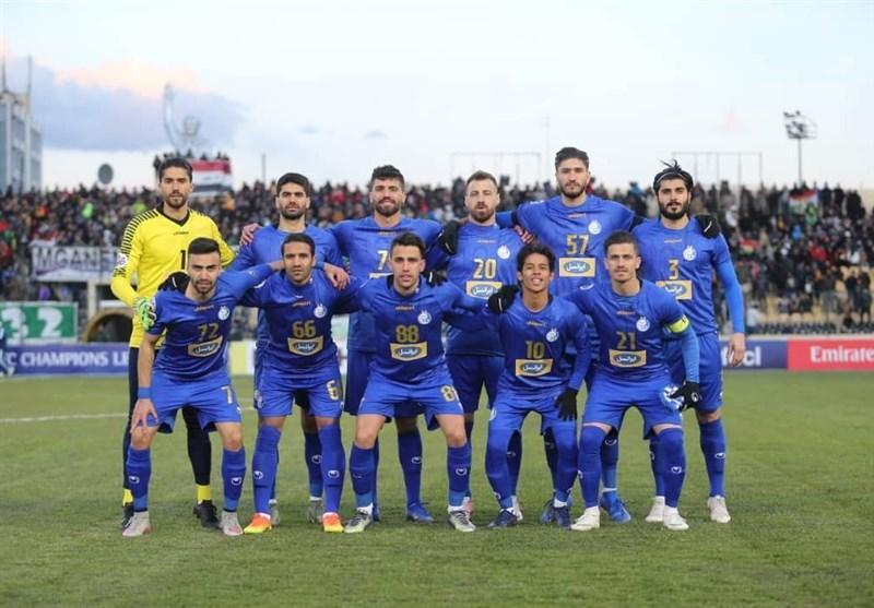 بازگشت تیم استقلال به ایران