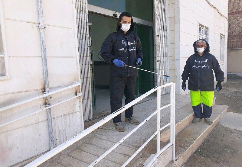 خبرنگاران ورود ناوگان نیروی دریایی شمال به گندزدایی شهرها و بعضی تاسیسات گیلان