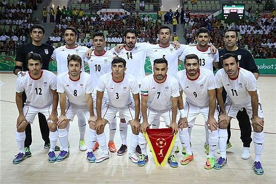 تیم ملی فوتسال ایران کاندیدای برترین تیم دنیا در سال 2019 شد