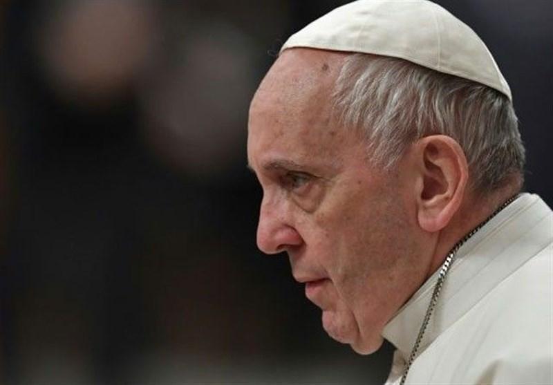 پاپ یک مراسم مذهبی دیگر را بدون حضور جمعیت برگزار کرد