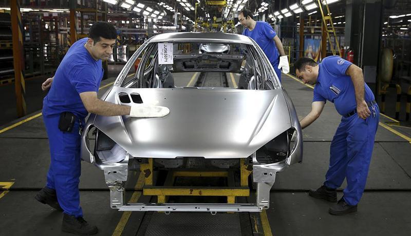 تولید روزانه 4 هزار خودرو در کشور