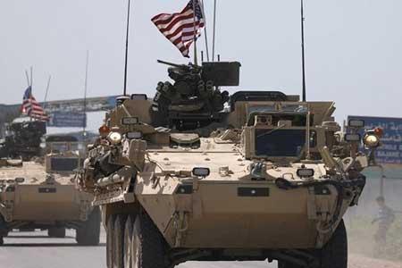 انفجار بمب در جهت کاروان نظامیان آمریکا در سوریه