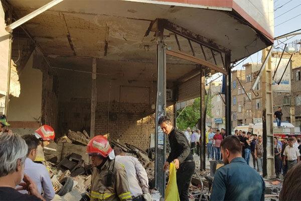 ویدئو ، انفجار مهیب در نسیم شهر ، خسارت به 30 ساختمان و 23 خودرو ، یک کشته و 20 زخمی