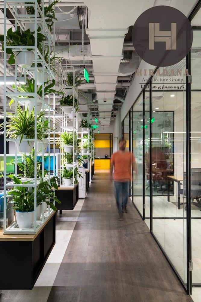 طراحی داخلی اداری کلاب مِد در شانگهای چین