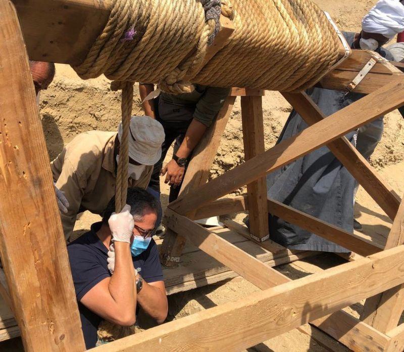 کشف تابوت های 2500 ساله در مصر
