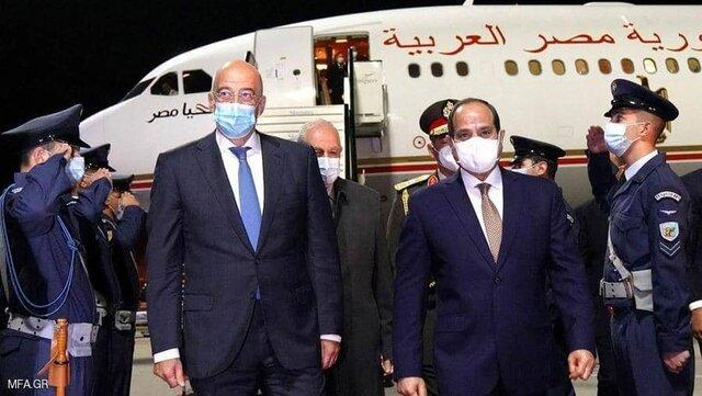 سفر رئیس جمهوری مصر به یونان