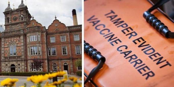 موزهای در انگلیس به پایگاه تزریق واکسن کرونا تبدیل شد
