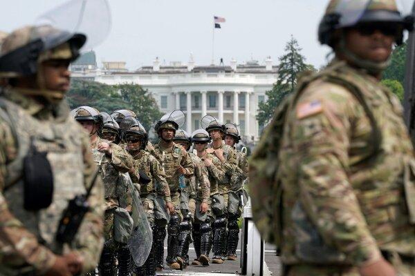 گارد ملی واشنگتن دی سی به حال آماده باش درآمد