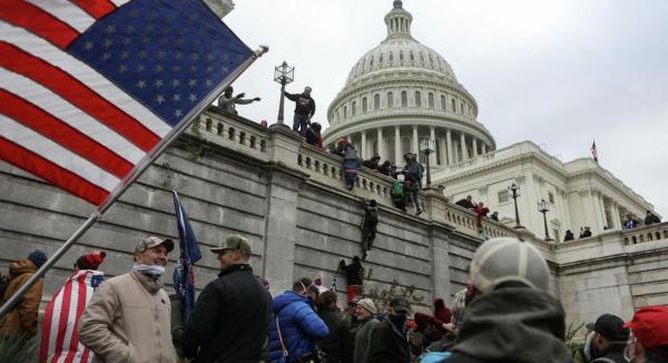 تحلیل روس ها درباره شورش اخیر در آمریکا و حمله به کنگره