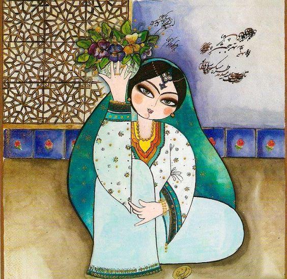 عکس عید نوروز (هنری و سنتی مخصوص پروفایل عید نوروز)