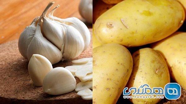 باید و نبایدهای حیاتی در مصرف سیر و سیب زمینی