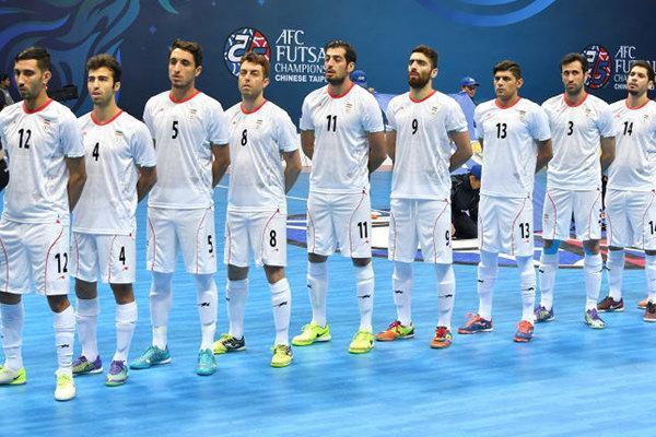 حضور ایران در جام جهانی فوتسال لیتوانی قطعی شد
