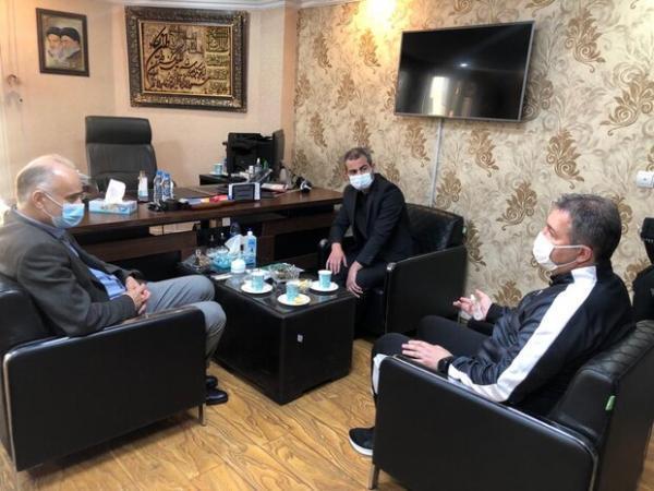 جلسه اسکوچیچ با مسئولان فدراسیون فوتبال