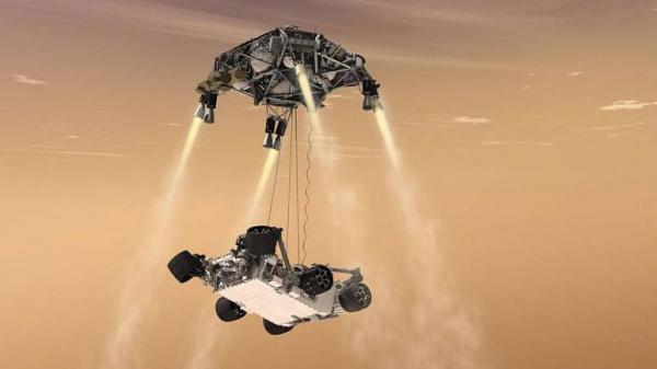 ناسا و 7 دقیقه وحشت بر فراز مریخ