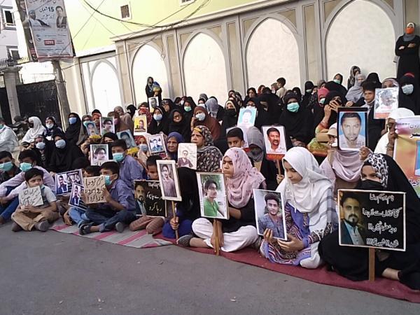 خبرنگاران ادامه اعتراضات به مفقود شدن شهروندان در شهرهای پاکستان