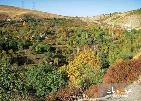 جاذبه های گردشگری روستای ناصرآباد در لواسان کوچک