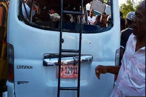 51 کشته و زخمی بر اثر حادثه رانندگی در هائیتی