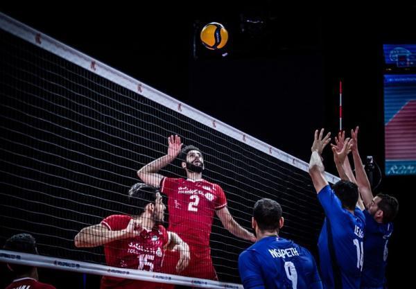 لیگ ملت های والیبال، پیروزی بی دردسر فرانسه مقابل ایران، هفته پنجم هم با شکست شروع شد