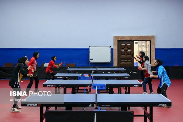 رقبای زنان تنیس روی میز ایران در قهرمانی آسیا معین شد