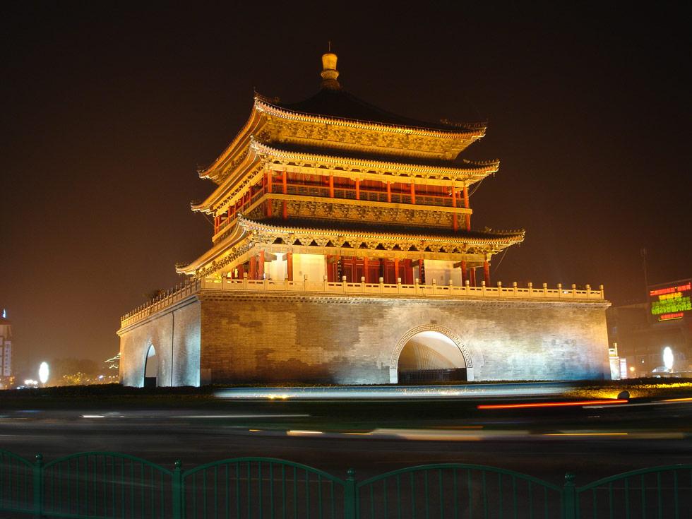 جاذبه های شهر شی آن چین